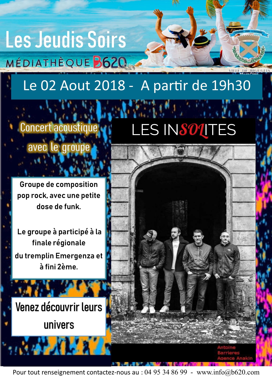 Concert LES INSOLITES |